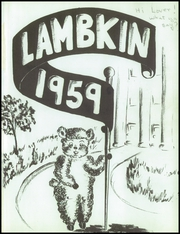 Page 5, 1959 Edition, Fort Collins High School - Lambkin Yearbook (Fort Collins, CO) online yearbook collection