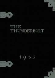 Page 1, 1933 Edition, Manual High School - Thunderbolt Yearbook (Denver, CO) online yearbook collection