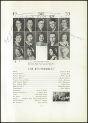 Page 7, 1933 Edition, Manual High School - Thunderbolt Yearbook (Denver, CO) online yearbook collection