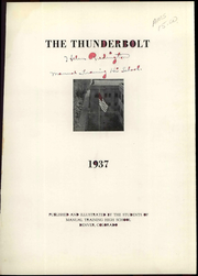 Page 7, 1937 Edition, Manual High School - Thunderbolt Yearbook (Denver, CO) online yearbook collection
