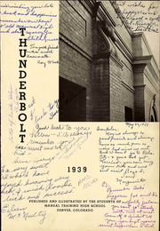 Page 7, 1939 Edition, Manual High School - Thunderbolt Yearbook (Denver, CO) online yearbook collection