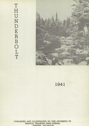 Page 5, 1941 Edition, Manual High School - Thunderbolt Yearbook (Denver, CO) online yearbook collection