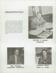 Page 10, 1951 Edition, Manual High School - Thunderbolt Yearbook (Denver, CO) online yearbook collection