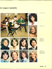 Page 31, 1982 Edition, Aurora Central High School - Borealis Yearbook (Aurora, CO) online yearbook collection