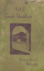 Trinidad High School - Wildcat Yearbook (Trinidad, CO) online yearbook collection, 1938 Edition, Page 1