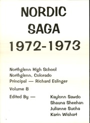 Page 6, 1973 Edition, Northglenn High School - Nordic Saga Yearbook (Northglenn, CO) online yearbook collection