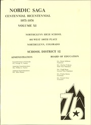 Page 5, 1976 Edition, Northglenn High School - Nordic Saga Yearbook (Northglenn, CO) online yearbook collection