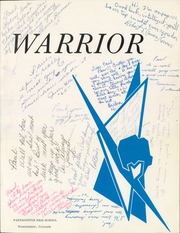 Page 5, 1964 Edition, Westminster High School - Warrior Yearbook (Westminster, CO) online yearbook collection