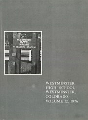 Page 5, 1976 Edition, Westminster High School - Warrior Yearbook (Westminster, CO) online yearbook collection