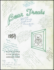 Page 5, 1954 Edition, Bear Creek High School - Bear Tracks Yearbook (Lakewood, CO) online yearbook collection