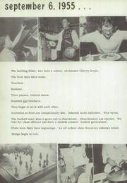 Page 8, 1956 Edition, Cherry Creek High School - Yearbook (Englewood, CO) online yearbook collection