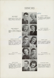 Page 10, 1947 Edition, Longmont High School - Trojan Yearbook (Longmont, CO) online yearbook collection