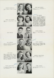 Page 15, 1947 Edition, Longmont High School - Trojan Yearbook (Longmont, CO) online yearbook collection