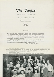 Page 7, 1947 Edition, Longmont High School - Trojan Yearbook (Longmont, CO) online yearbook collection