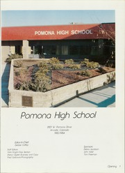 Page 5, 1984 Edition, Pomona High School - Pantera Yearbook (Arvada, CO) online yearbook collection