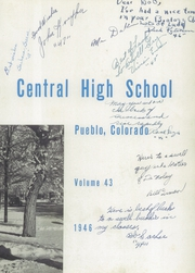 Page 7, 1946 Edition, Central High School - Wildcat Yearbook (Pueblo, CO) online yearbook collection