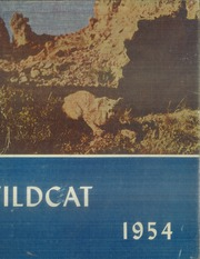 1954 Edition, Central High School - Wildcat Yearbook (Pueblo, CO)