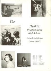 Page 5, 1971 Edition, Douglas County High School - Huskie Highlights Yearbook (Castle Rock, CO) online yearbook collection