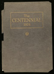 Page 1, 1924 Edition, Centennial High School - Bulldog Yearbook (Pueblo, CO) online yearbook collection