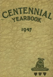 1947 Edition, Centennial High School - Bulldog Yearbook (Pueblo, CO)