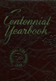 1948 Edition, Centennial High School - Bulldog Yearbook (Pueblo, CO)