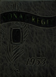 1953 Edition, Canon City High School - Nonac Regit Yearbook (Canon City, CO)