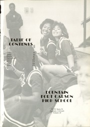 Page 5, 1986 Edition, Fountain Fort Carson High School - Yearbook (Fountain, CO) online yearbook collection