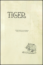Page 3, 1925 Edition, Sterling High School - Tiger Yearbook (Sterling, CO) online yearbook collection