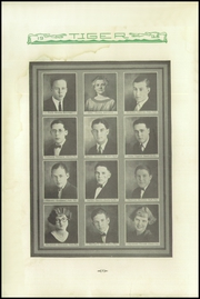 Page 8, 1925 Edition, Sterling High School - Tiger Yearbook (Sterling, CO) online yearbook collection