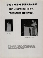 Page 5, 1963 Edition, Fort Morgan High School - Pacemaker Yearbook (Fort Morgan, CO) online yearbook collection