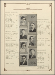 Page 15, 1935 Edition, Berthoud High School - Spartan Yearbook (Berthoud, CO) online yearbook collection