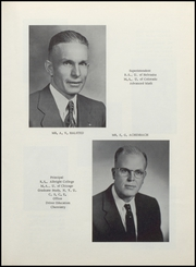 Page 11, 1957 Edition, Berthoud High School - Spartan Yearbook (Berthoud, CO) online yearbook collection