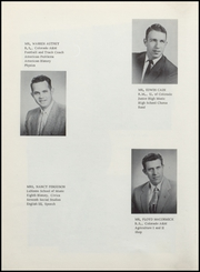 Page 12, 1957 Edition, Berthoud High School - Spartan Yearbook (Berthoud, CO) online yearbook collection