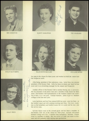 Page 12, 1952 Edition, Manitou Springs High School - Mustang Yearbook (Manitou Springs, CO) online yearbook collection