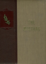 Page 1, 1954 Edition, Manitou Springs High School - Mustang Yearbook (Manitou Springs, CO) online yearbook collection