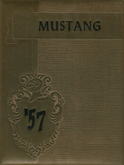 1957 Edition, Manitou Springs High School - Mustang Yearbook (Manitou Springs, CO)