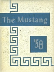 1958 Edition, Manitou Springs High School - Mustang Yearbook (Manitou Springs, CO)