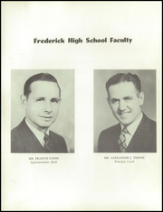 Page 8, 1952 Edition, Frederick High School - Warrior Yearbook (Frederick, CO) online yearbook collection