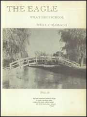 Page 5, 1956 Edition, Wray High School - Eagle Yearbook (Wray, CO) online yearbook collection
