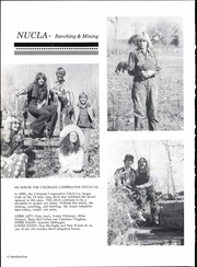 Page 8, 1976 Edition, Nucla High School - Lariat Yearbook (Nucla, CO) online yearbook collection