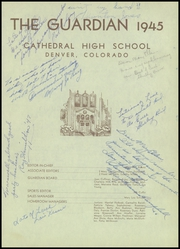 Page 5, 1945 Edition, Cathedral High School - Journey Yearbook (Denver, CO) online yearbook collection