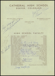 Page 6, 1945 Edition, Cathedral High School - Journey Yearbook (Denver, CO) online yearbook collection