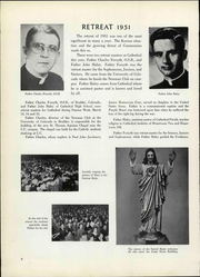 Page 10, 1951 Edition, Cathedral High School - Journey Yearbook (Denver, CO) online yearbook collection