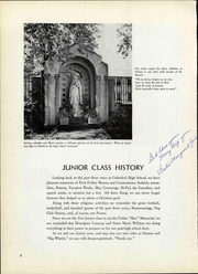 Page 12, 1951 Edition, Cathedral High School - Journey Yearbook (Denver, CO) online yearbook collection