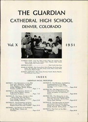 Page 5, 1951 Edition, Cathedral High School - Journey Yearbook (Denver, CO) online yearbook collection