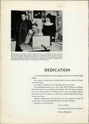 Page 6, 1951 Edition, Cathedral High School - Journey Yearbook (Denver, CO) online yearbook collection