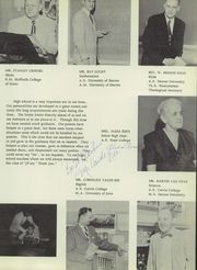 Page 11, 1958 Edition, Denver Christian High School - Torch Yearbook (Denver, CO) online yearbook collection