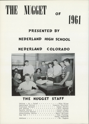 Page 6, 1961 Edition, Nederland High School - Nugget Yearbook (Nederland, CO) online yearbook collection