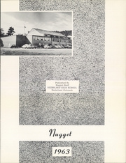 Page 5, 1963 Edition, Nederland High School - Nugget Yearbook (Nederland, CO) online yearbook collection