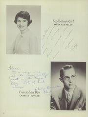 Page 14, 1955 Edition, St Francis De Sales High School - Fransalian Yearbook (Denver, CO) online yearbook collection